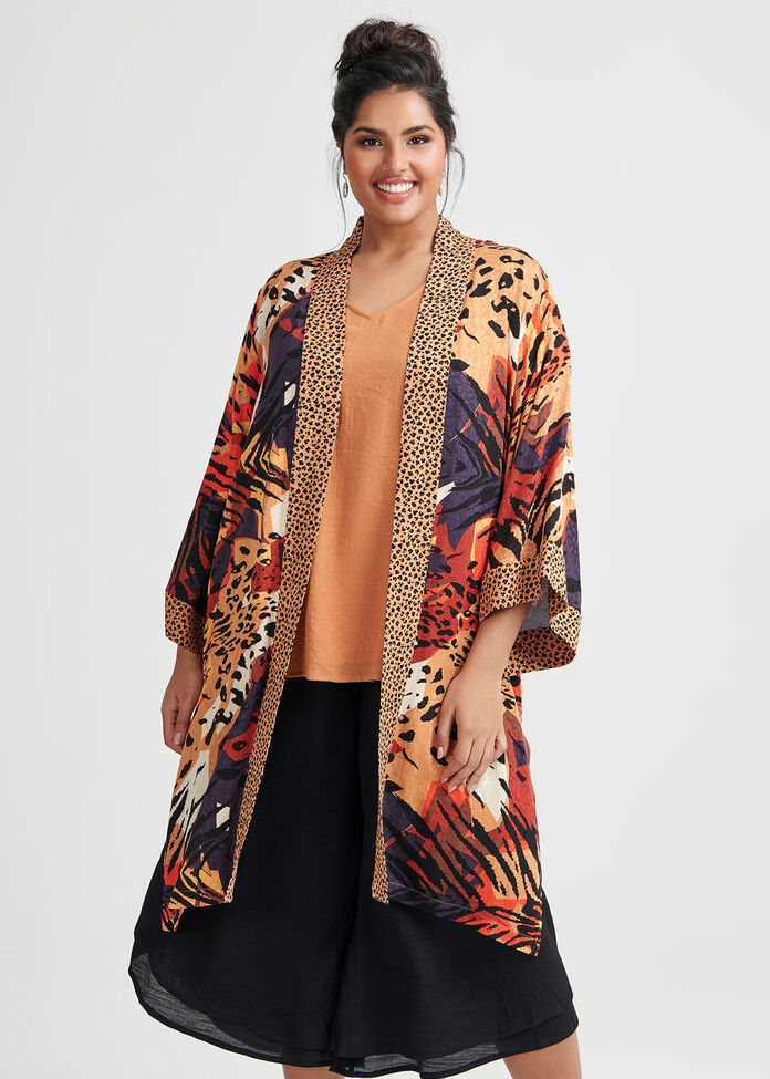 Natural Wonders Kimono, , hi-res