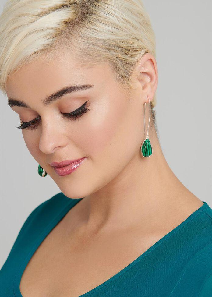 Reflection Stone Earrings, , hi-res