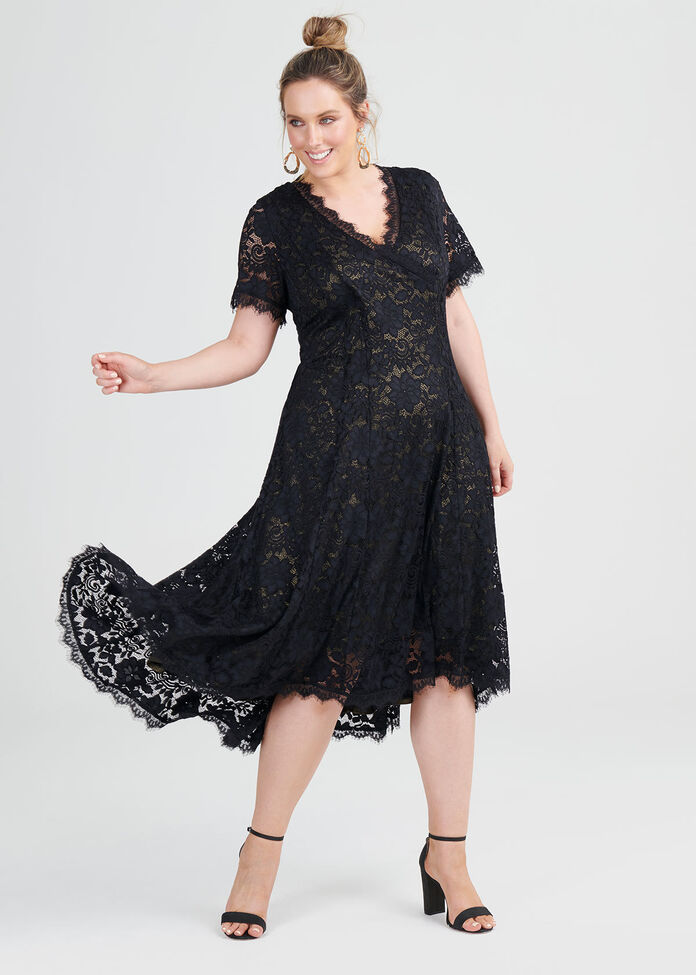 Talia Lace Dress, , hi-res