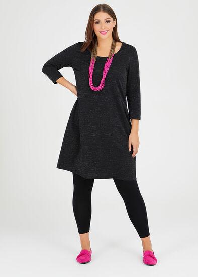 Natalie Lurex Dress