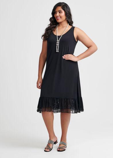 Ruffle Around Dress