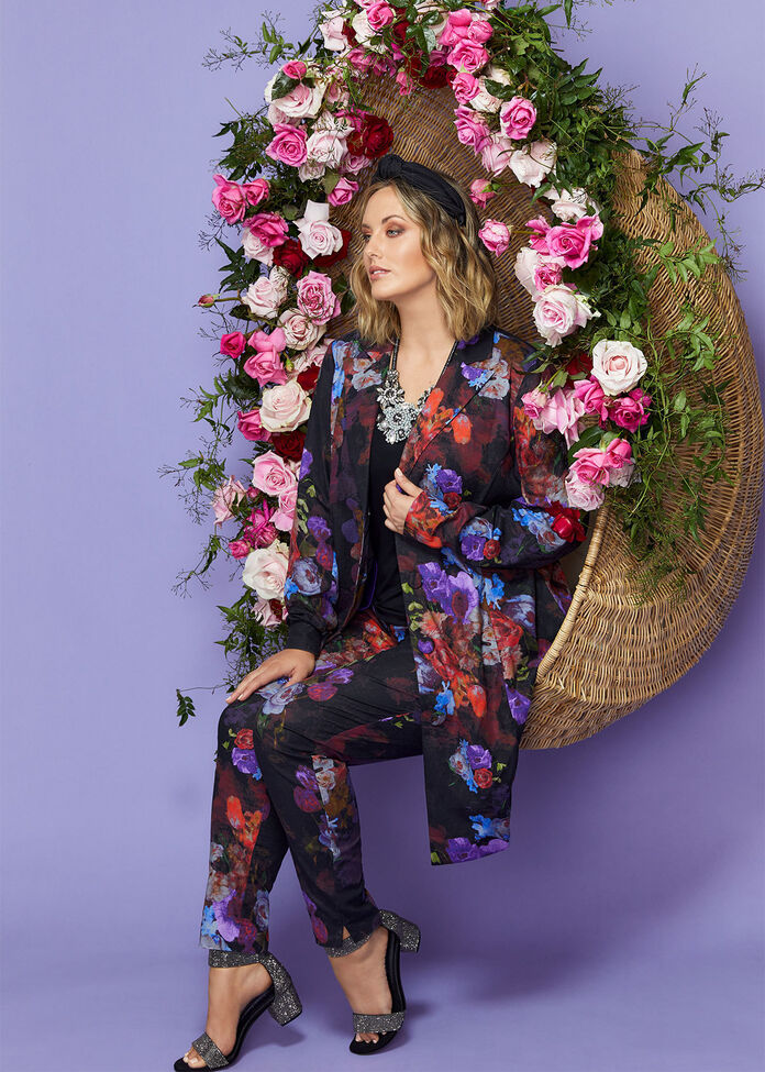 Rose Garden Linen Pant, , hi-res