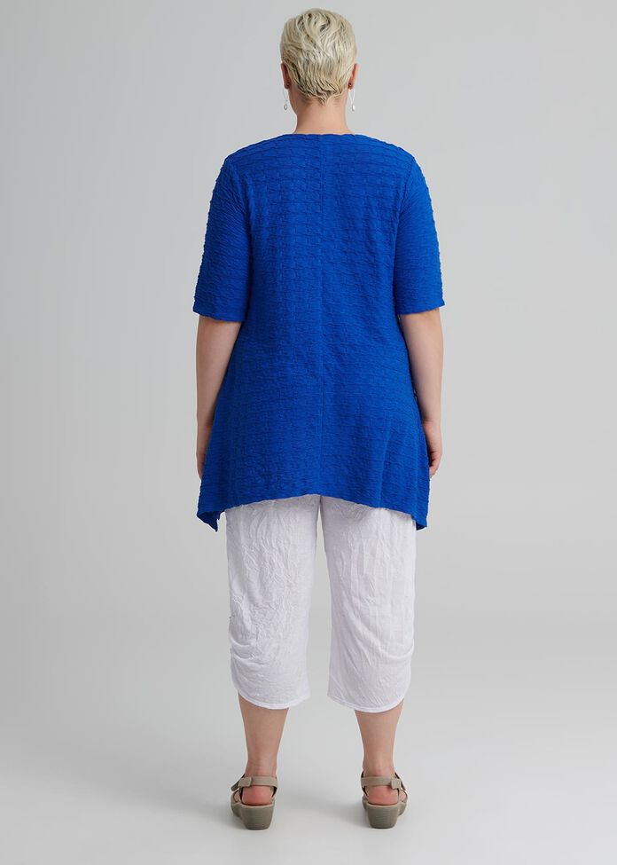 Ripple Effect Short Sleeve Top, , hi-res