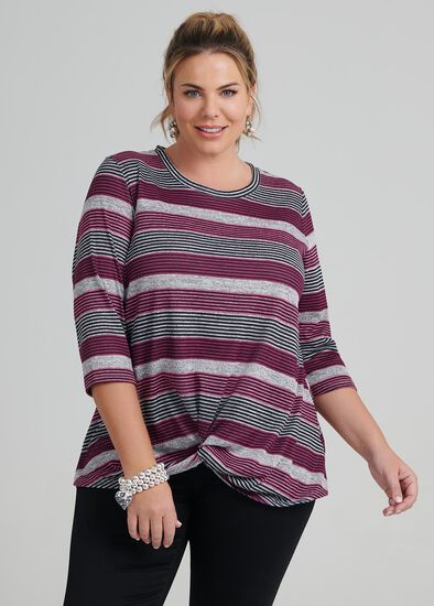 Twilight Stripe Top