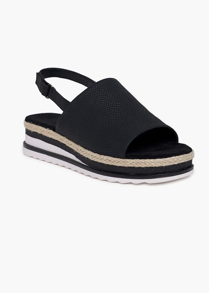 Talia Textured Wedge, , hi-res