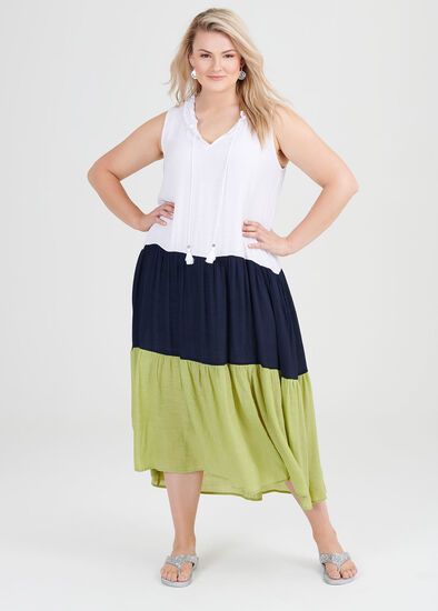 Terra Splice Maxi Dress