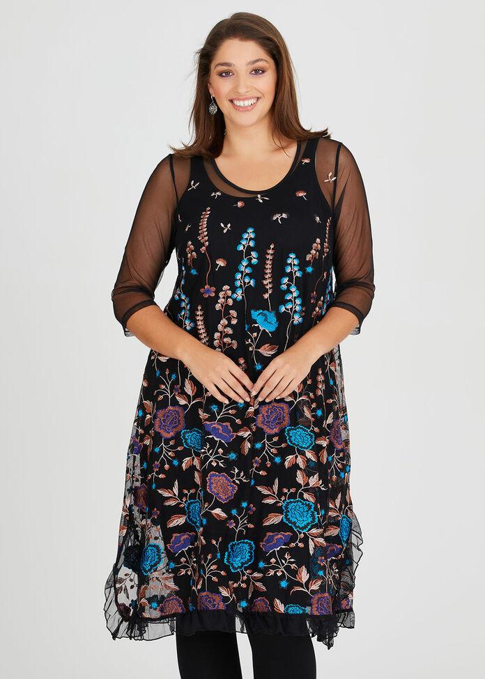 Bella Bloom Dress, , hi-res