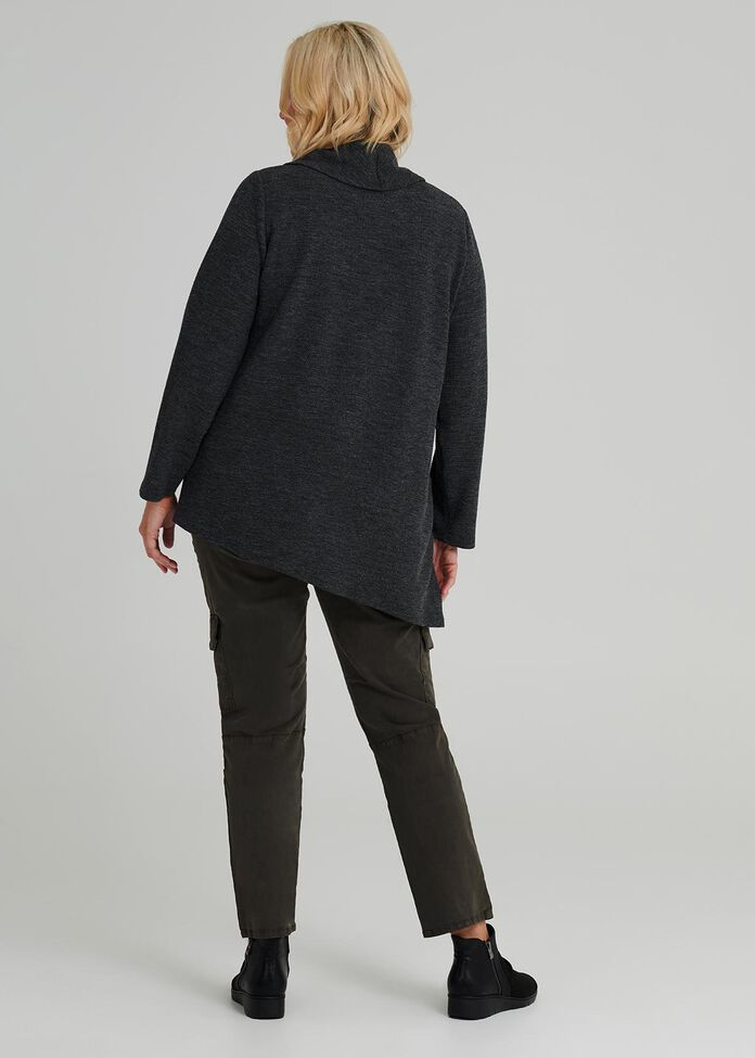 Ebony Long Sleeve Top, , hi-res