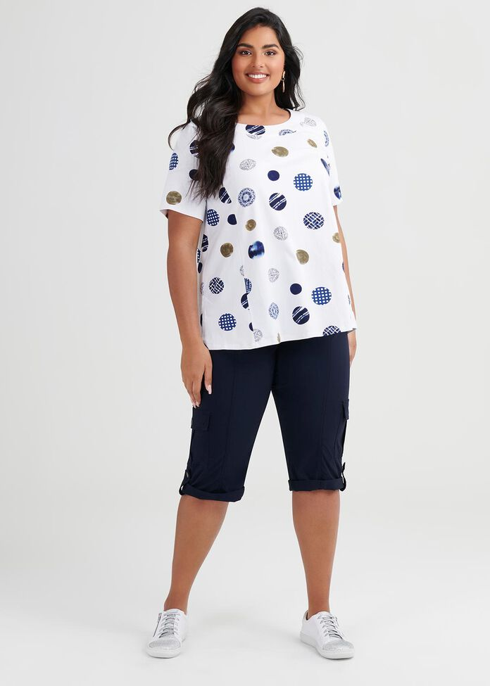 Organic Cotton Spot Top, , hi-res