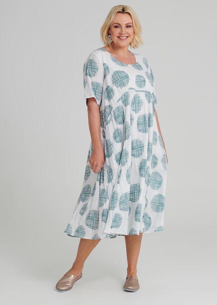 Pastels Spot Dress, , hi-res