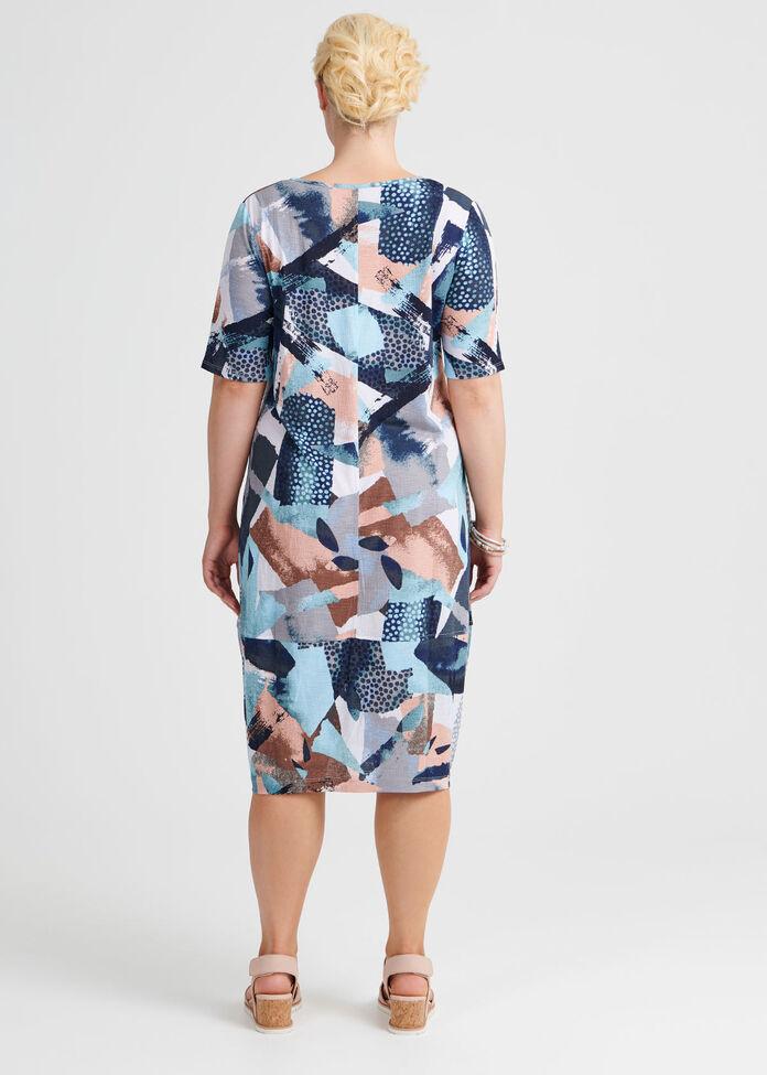 Bold In Blue Dress, , hi-res