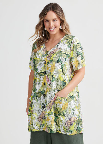 Natural Jungle Tunic