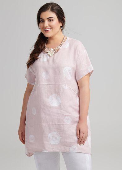Circle Linen Tunic