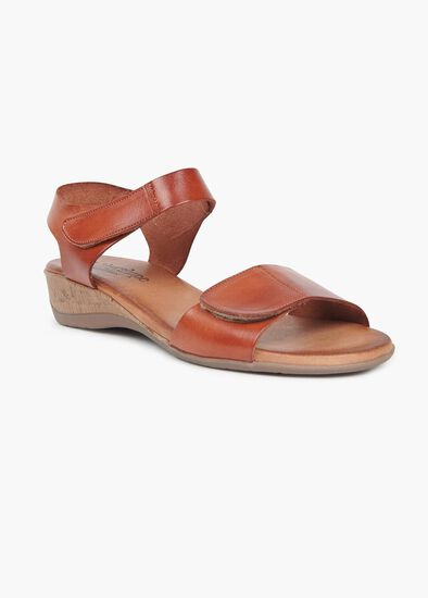 Barcelona Leather Sandal