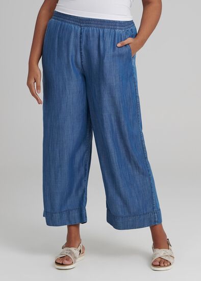 Resort Wide Leg Pant