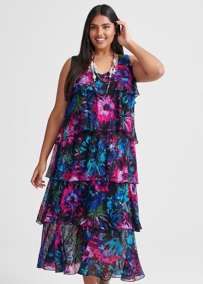 Floral Tales Dress, , hi-res