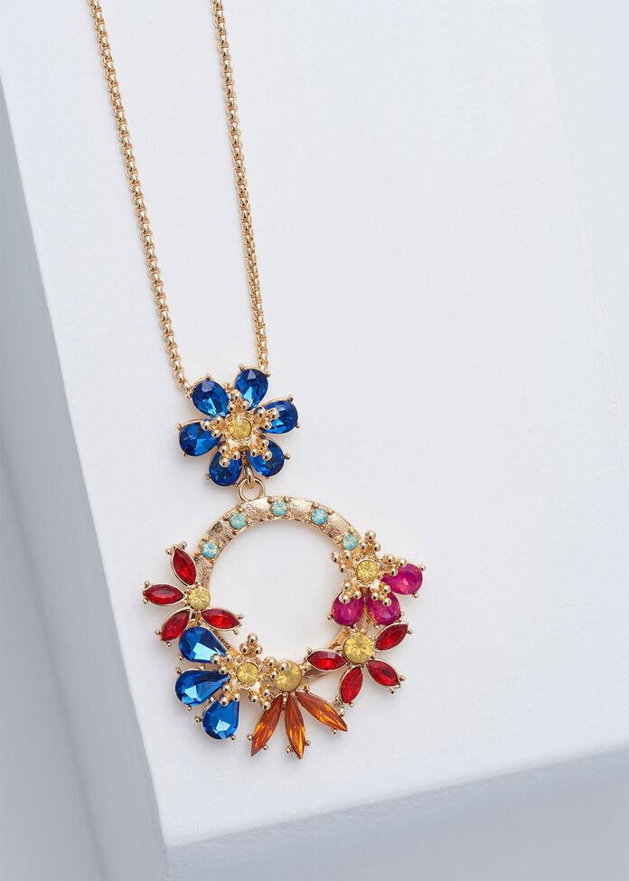 Round The Garden Necklace, , hi-res