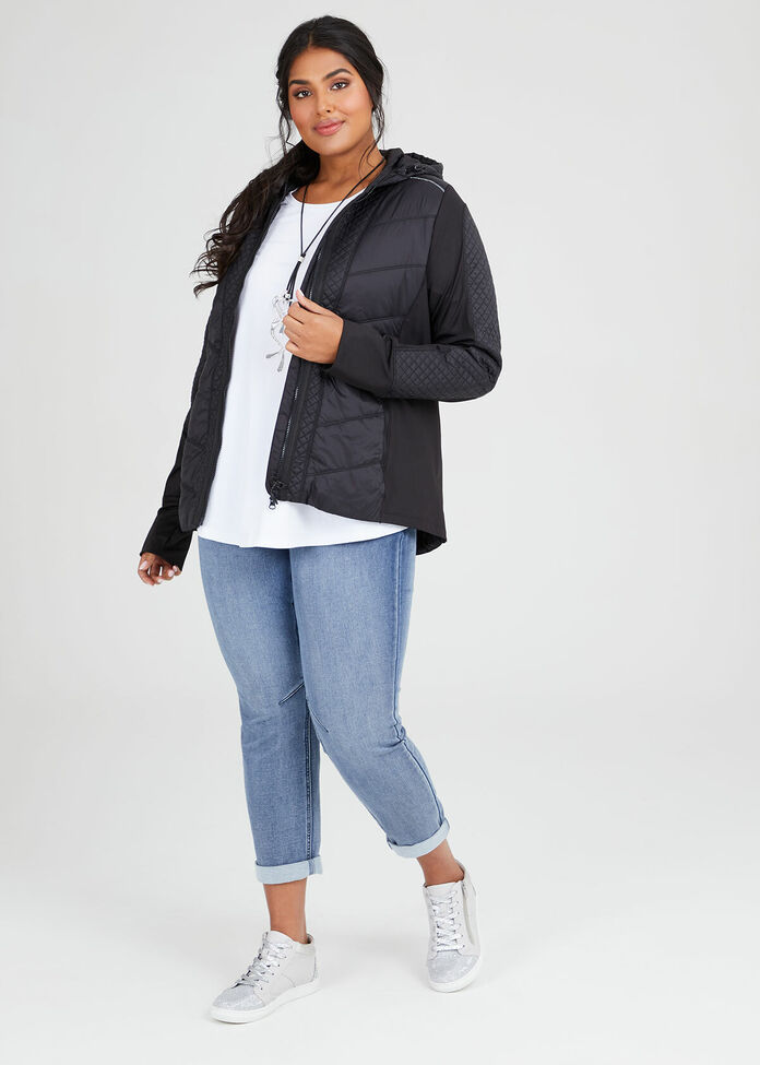 On Repeat Quilted Jacket, , hi-res