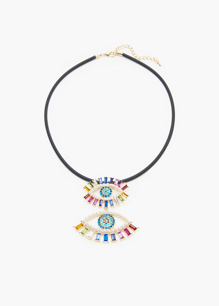 Eye See You Necklace, , hi-res