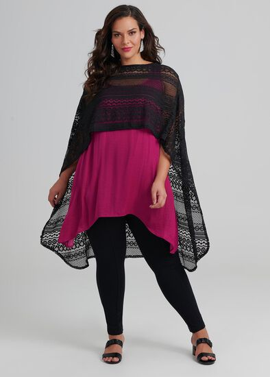 Lace By Your Side Poncho