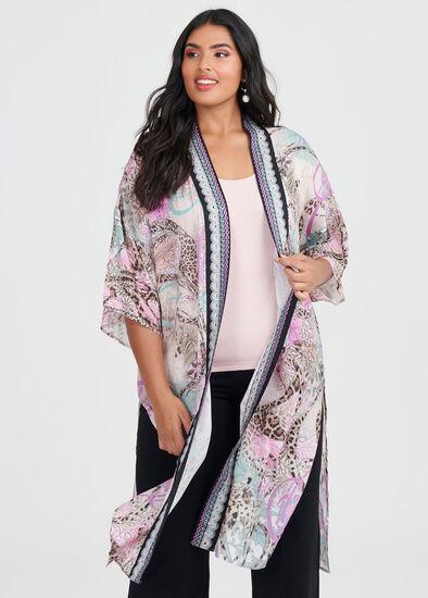 Mystique Wild Viscose Kimono