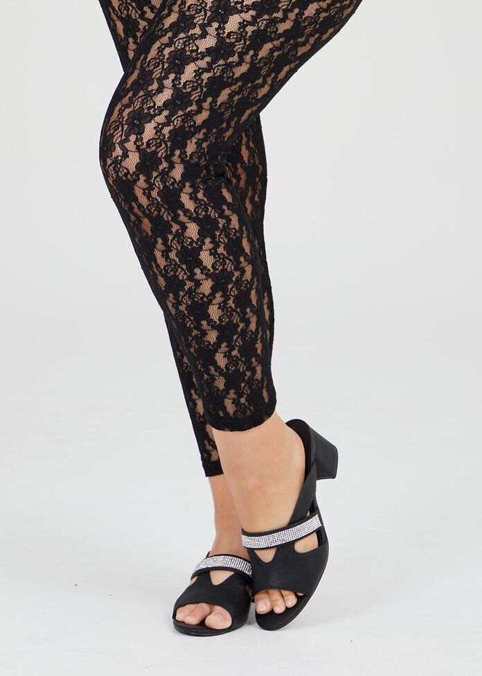 Filigree Lace Legging, , hi-res