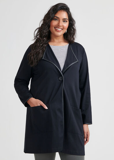 Asymetrical Ponti Jacket