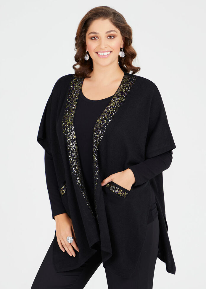Glisten Pocket Cape, , hi-res