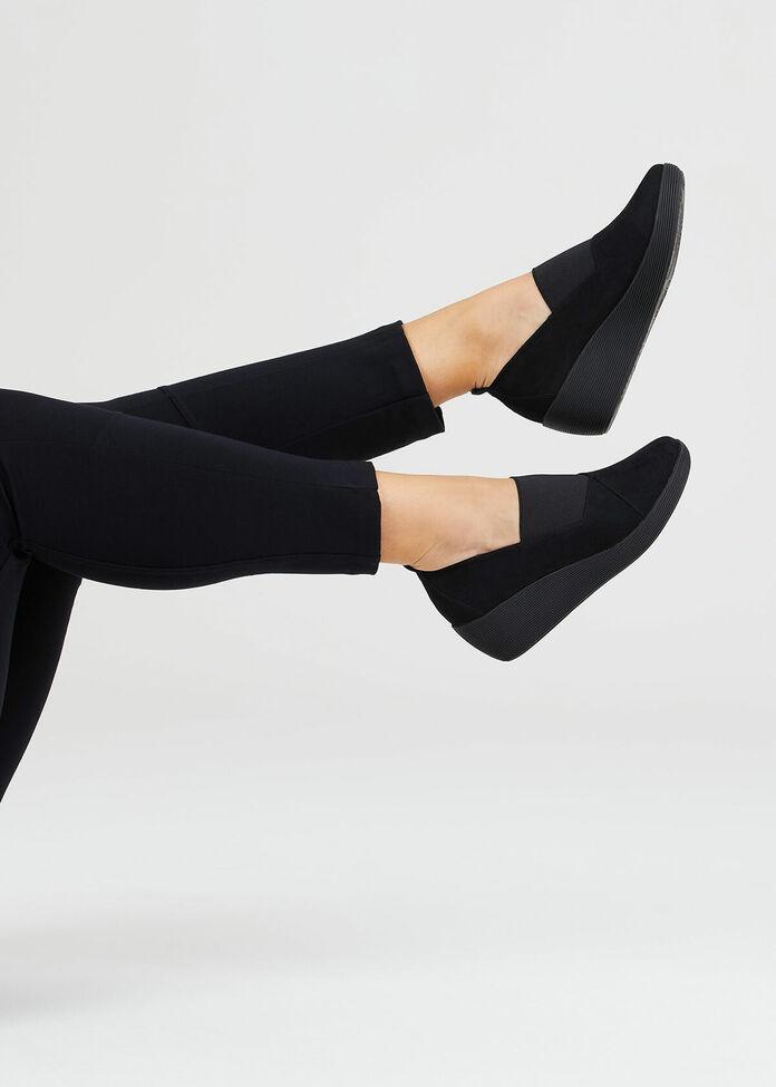 My Black Casual Shoe, , hi-res