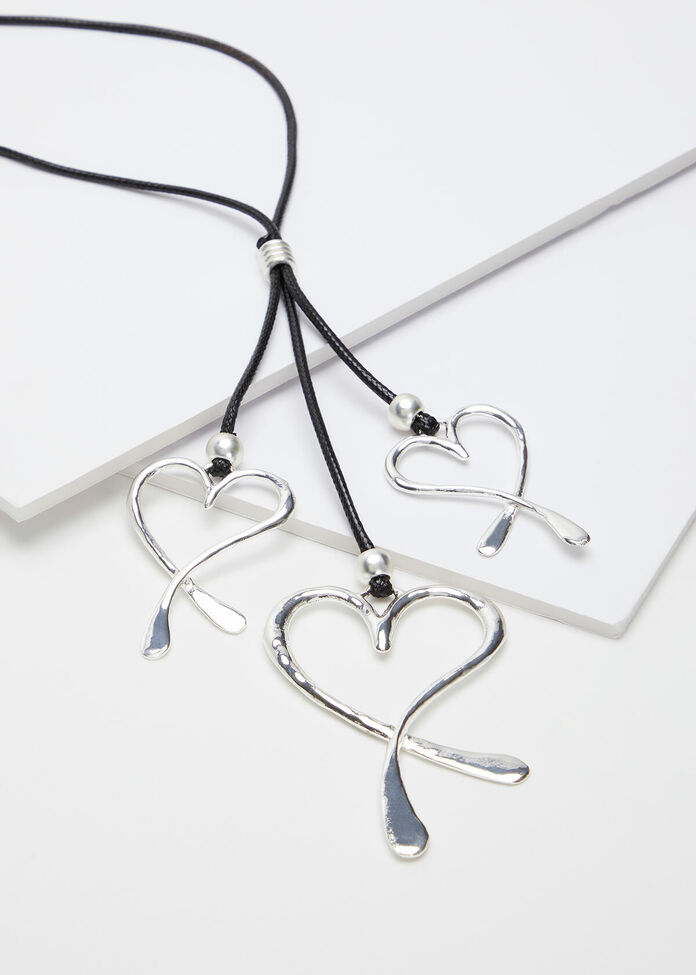 Multi Heart Necklace, , hi-res