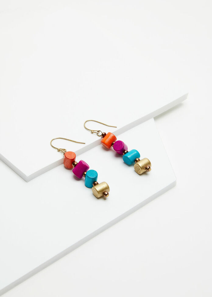 Bright Tube Earrings, , hi-res