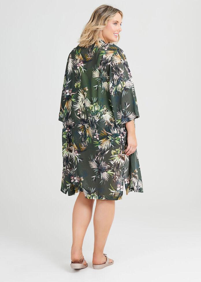 Modal Tropical Kimono, , hi-res