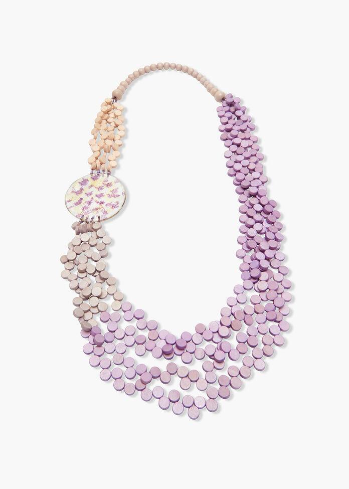 Round Bead Necklace, , hi-res