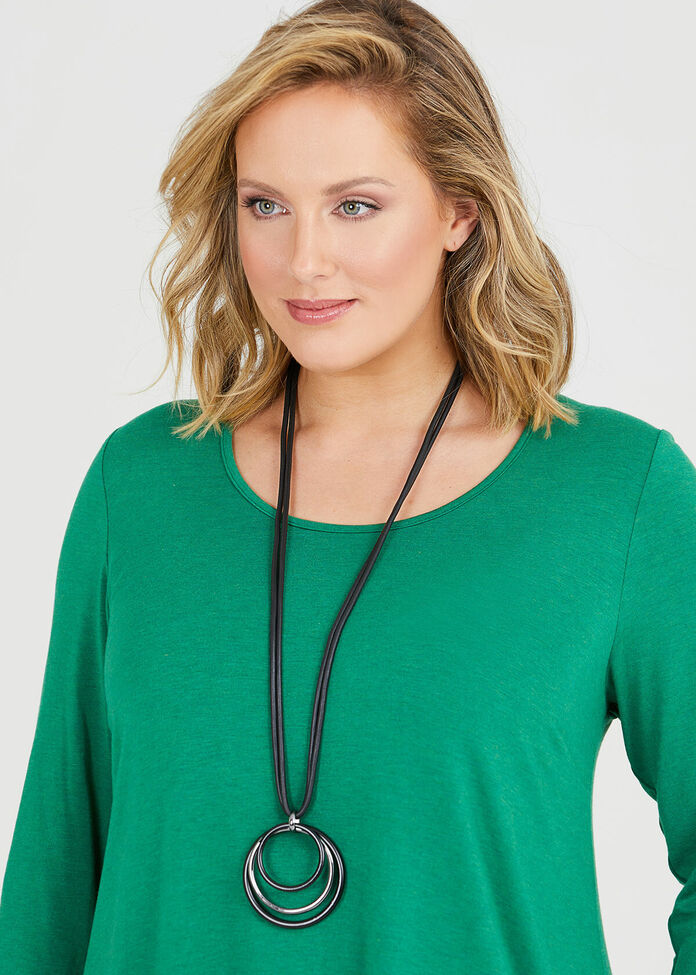 Looped In Necklace, , hi-res