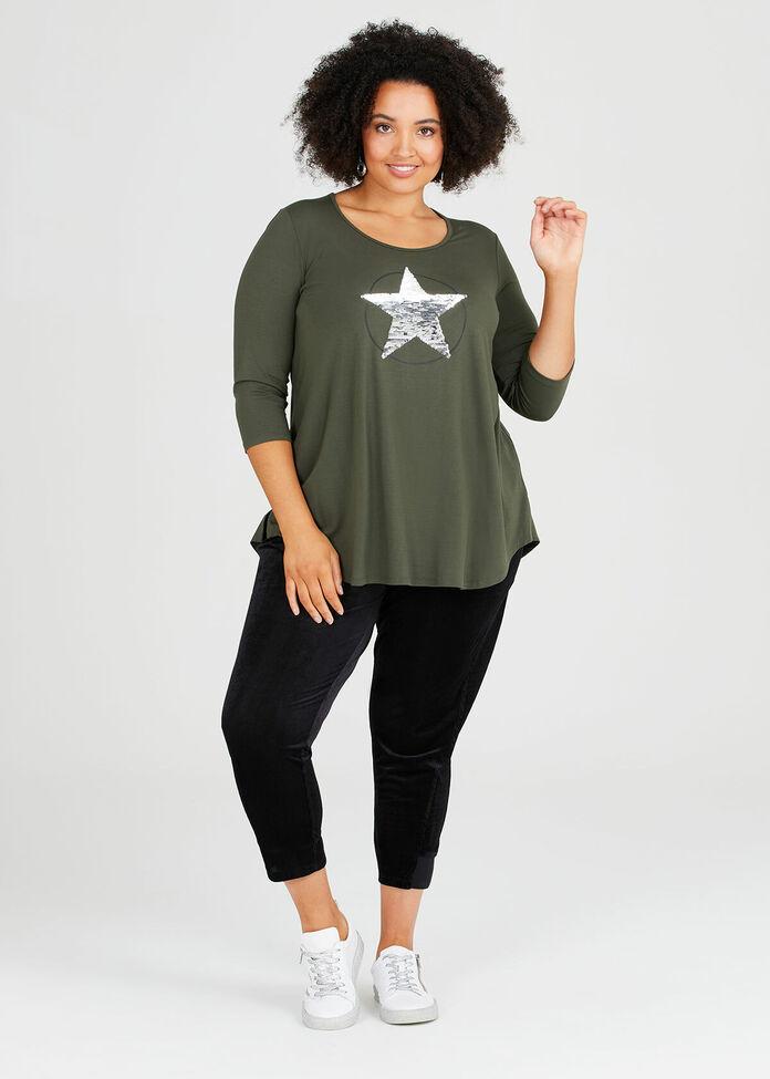 Rising Star Natural Tunic, , hi-res