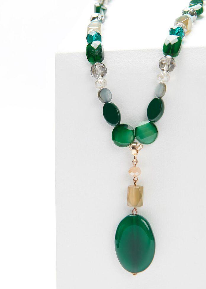 Aurora Stone Necklace, , hi-res