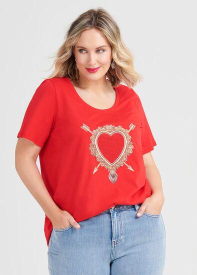 Organic Heart Top