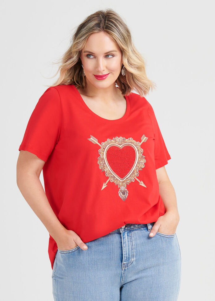 Organic Heart Top, , hi-res