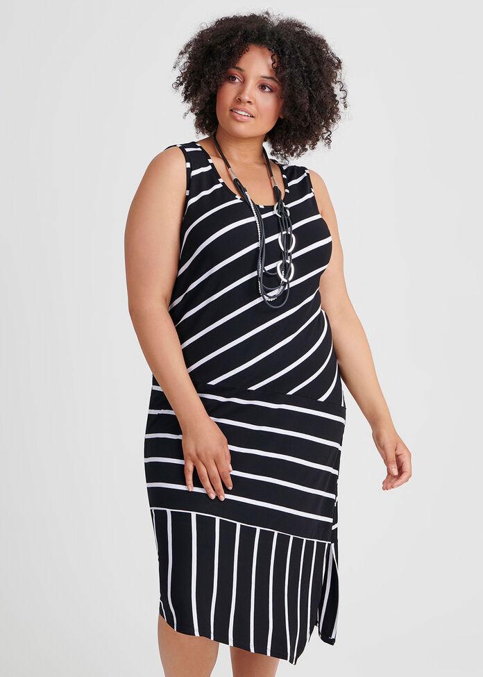 Merci Stripe Dress, , hi-res