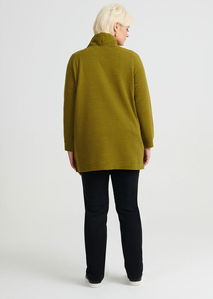 Tik Tok Funnel Neck Top, , hi-res