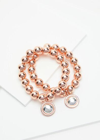 Rose Gold Bracelet Stack