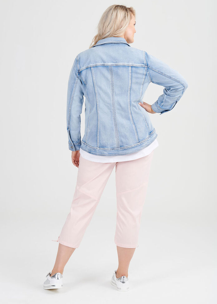 The Best Fit Denim Jacket, , hi-res
