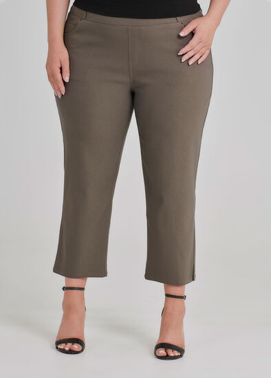 Petite Begin Crop Pant