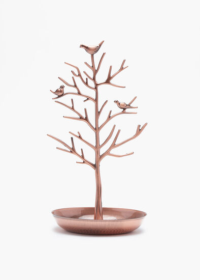 Rose Gold Jewel Tree
