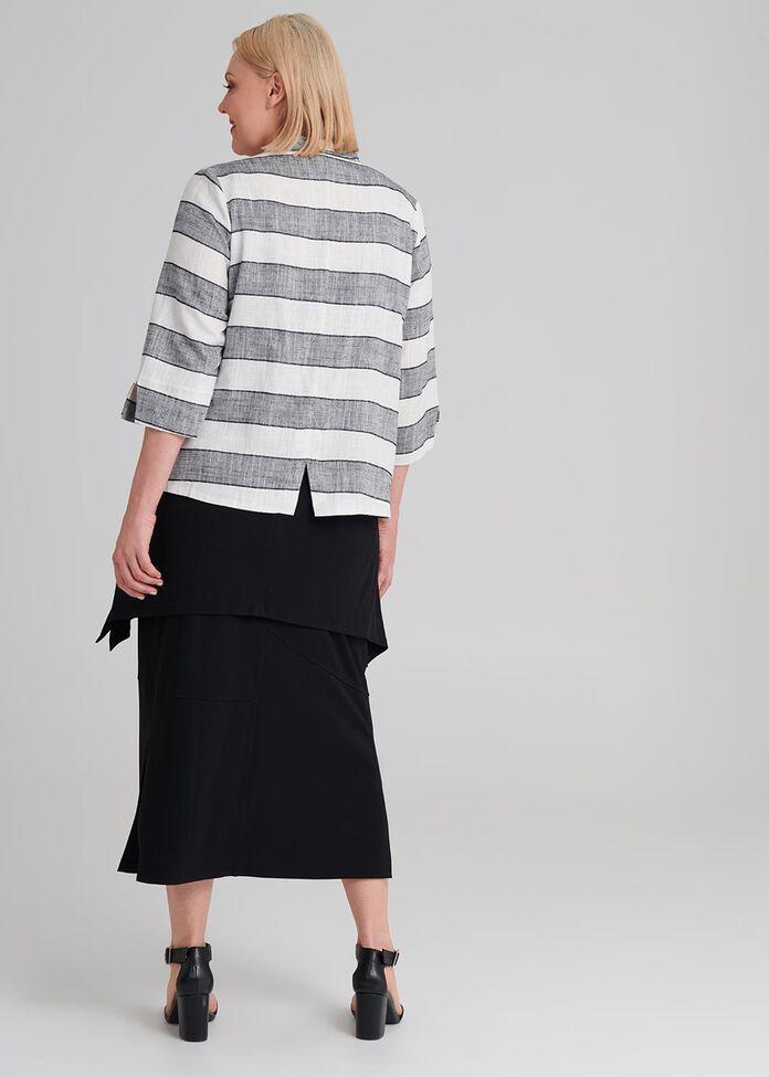 Linen Stay In Line Jacket, , hi-res