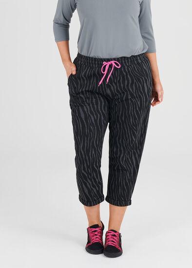 Cotton Zebra Jogger
