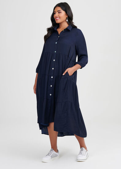 Luxe Bohemian Shirt Dress