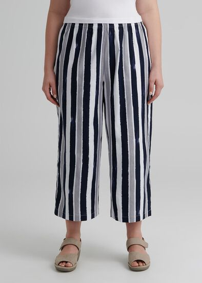 Linen Sea Gypsy Crop Pant