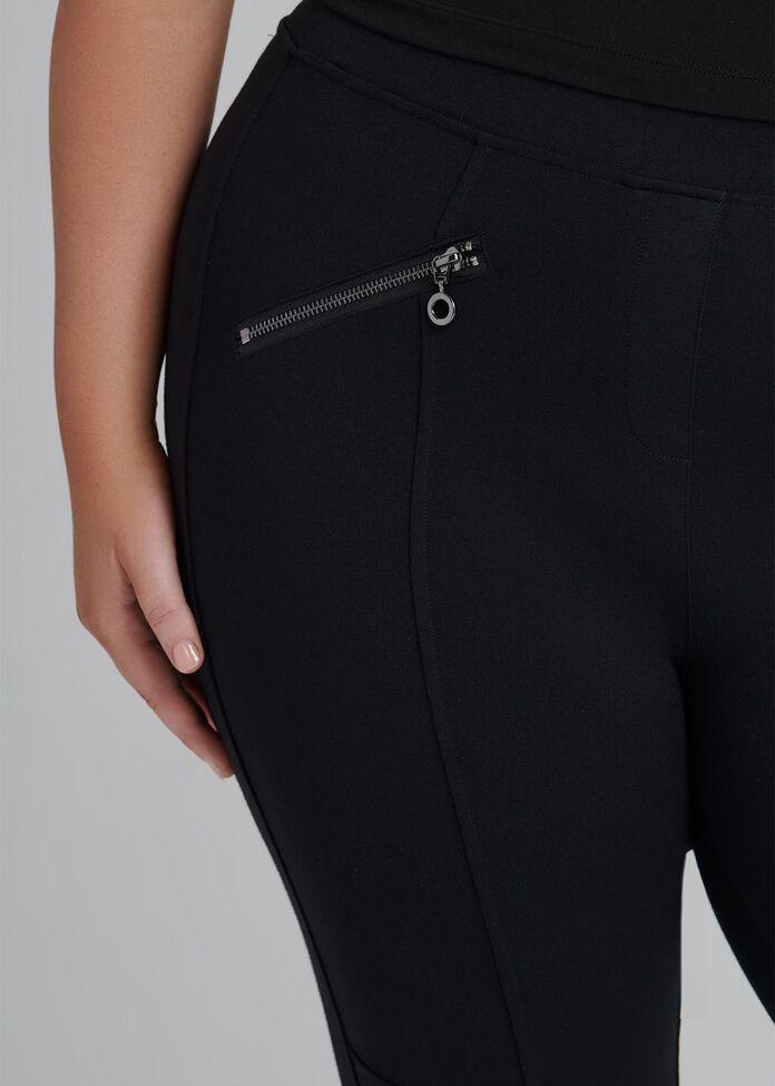 Tall Coco Luxe Zip Legging, , hi-res