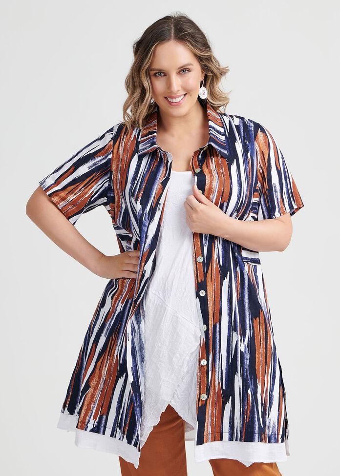 Linen Seychelles Shirt, , hi-res